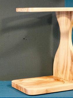 Stand en bois d'olivier pour V60 Hario